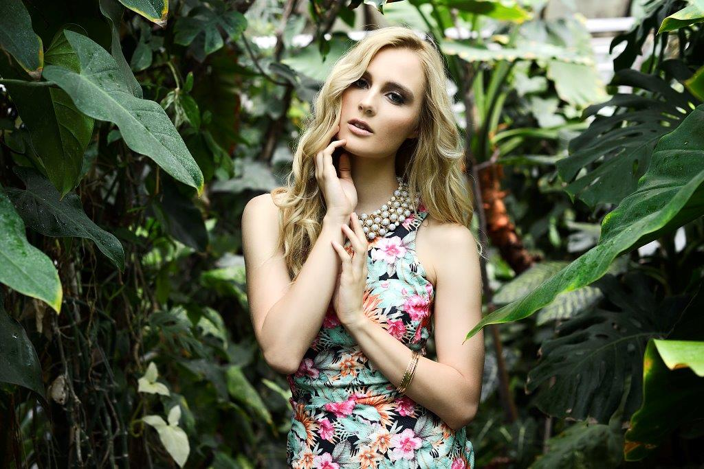 Botanical Garden | Flora fashion model new talent at Incoming Talents
