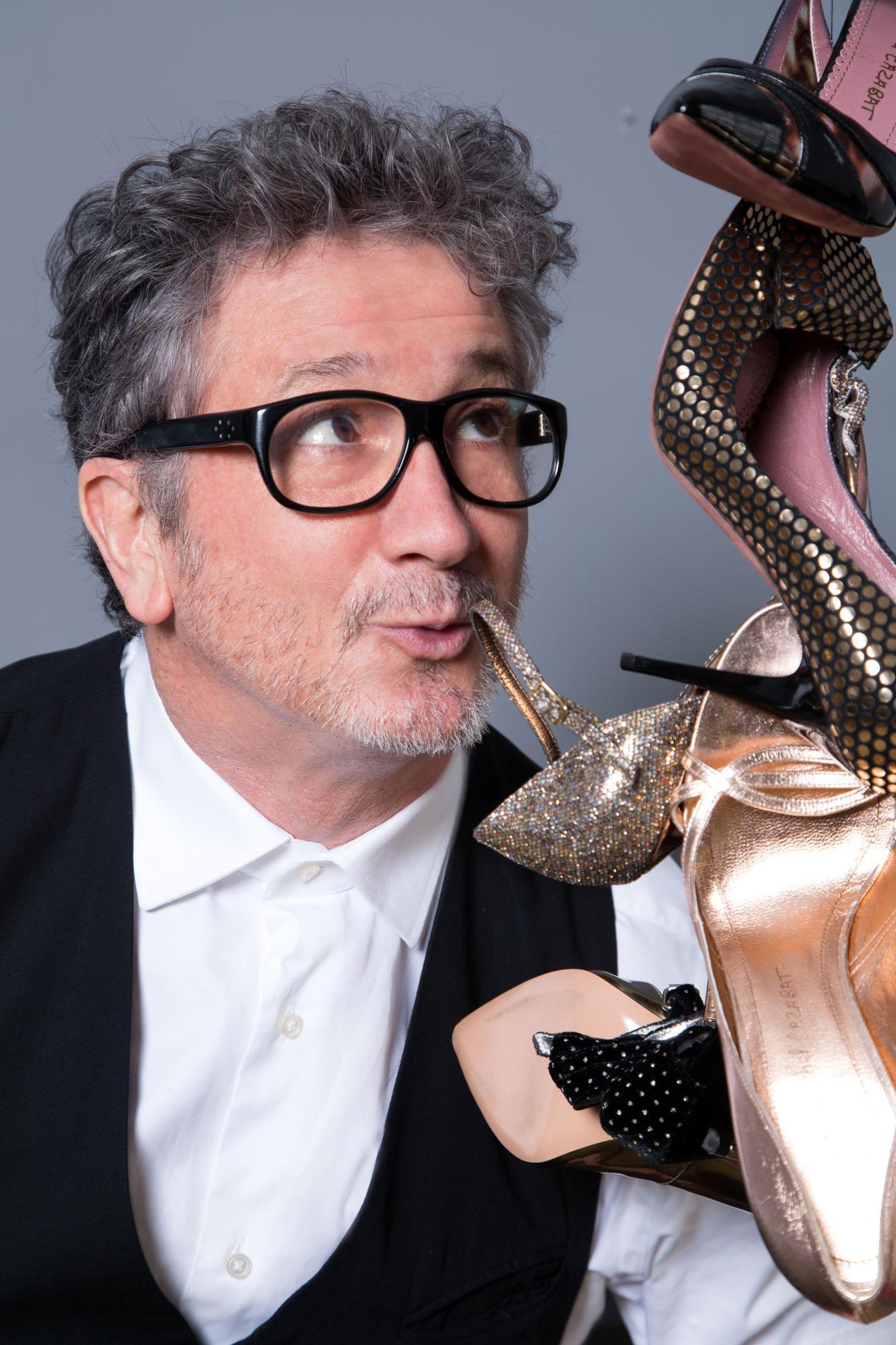 Luxury shoe designer Jean-Michel Cazabat