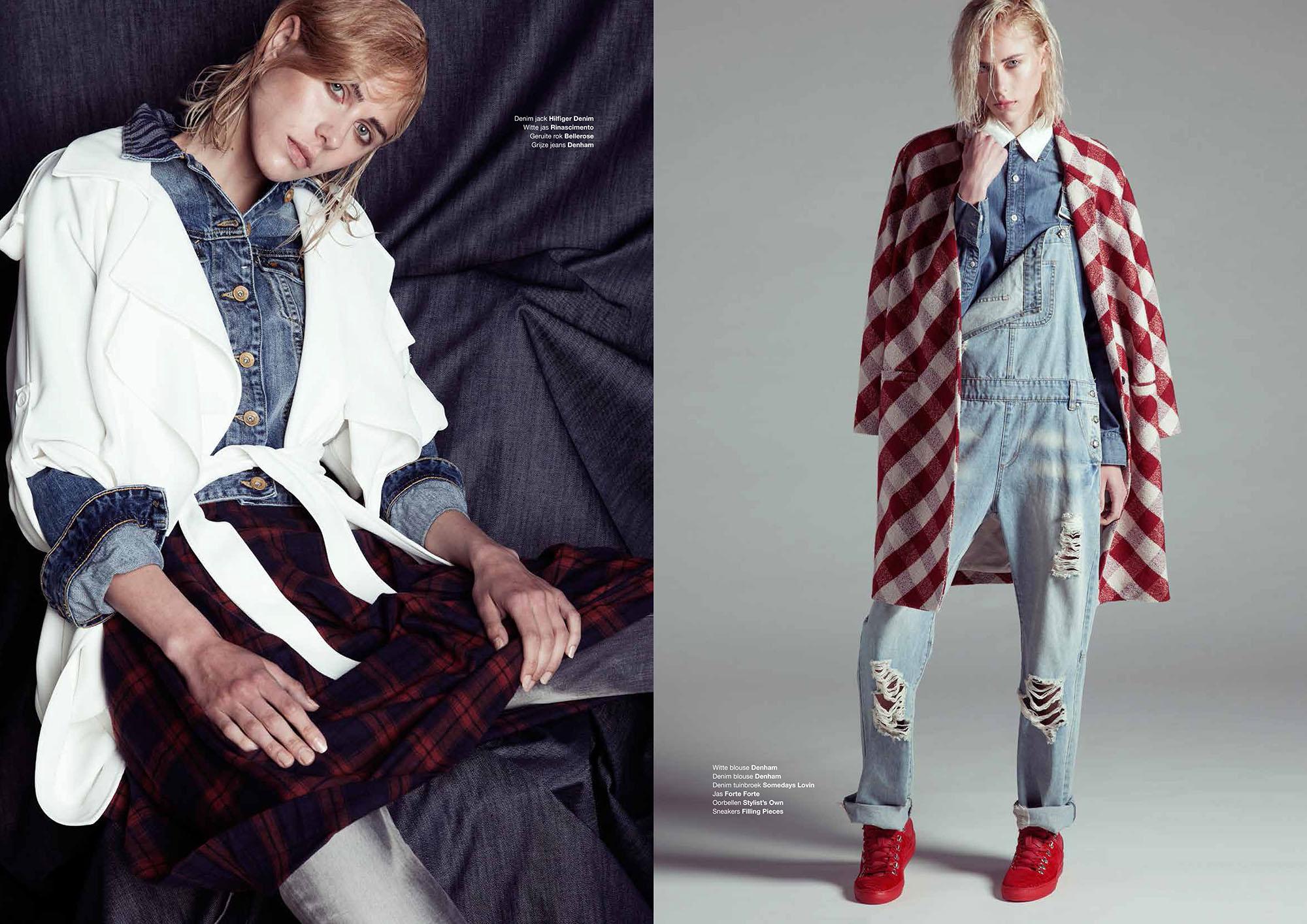 Interview with Dutch top fashion stylist Ashley Veraart