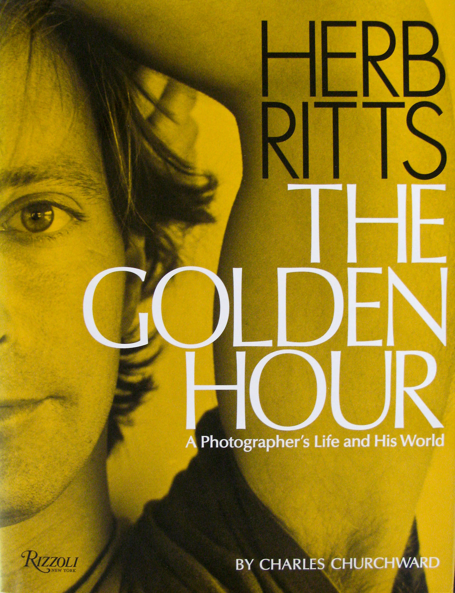 Cover of Herb Ritts book. Photo by Richard Gere.