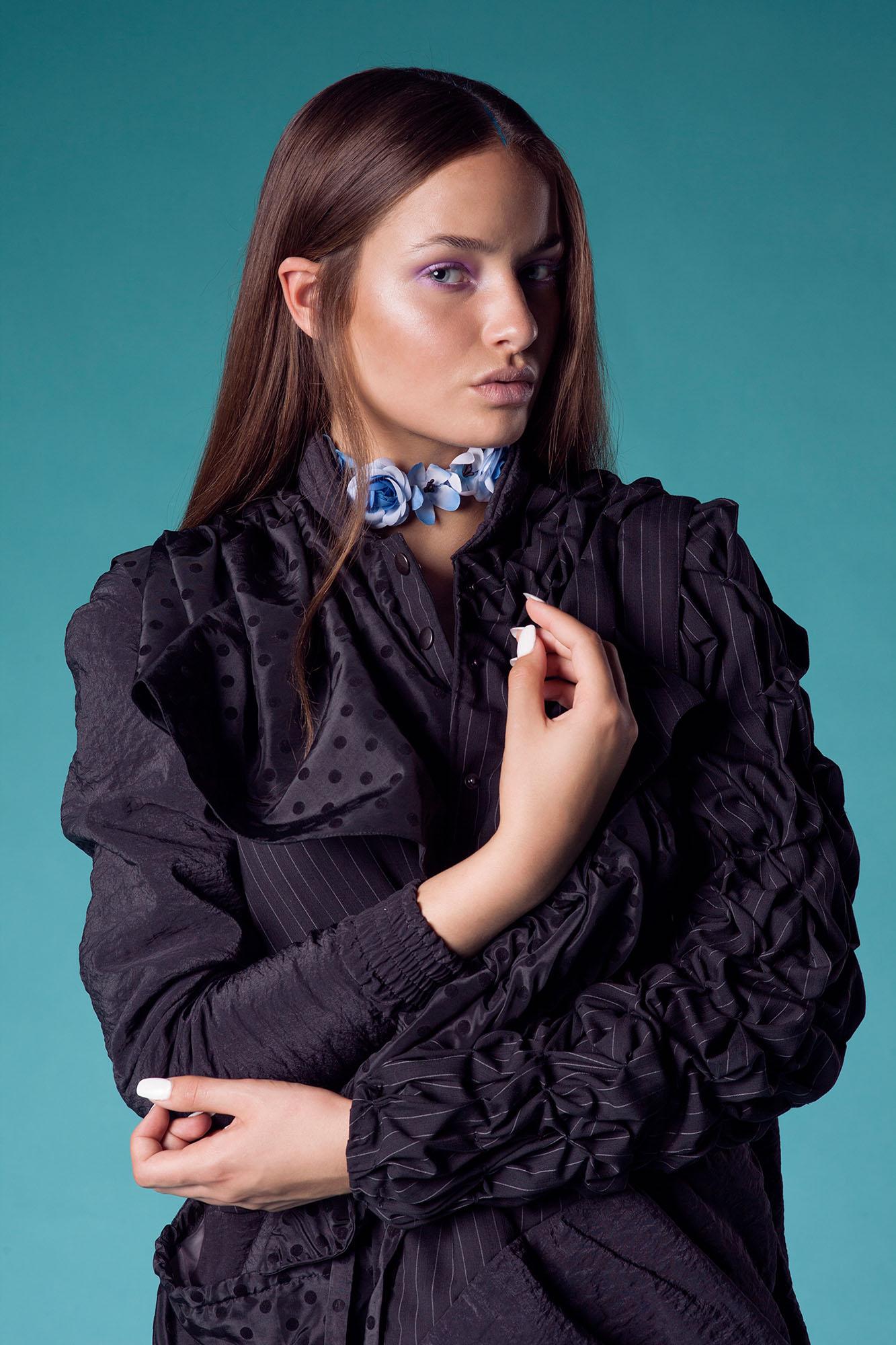 Coat Anne van de Boogaard, Flowerband Monki